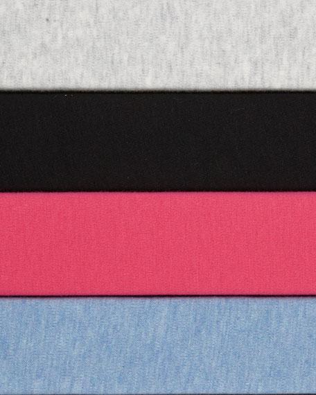 Circle-Pocket Cotton Shift Dress