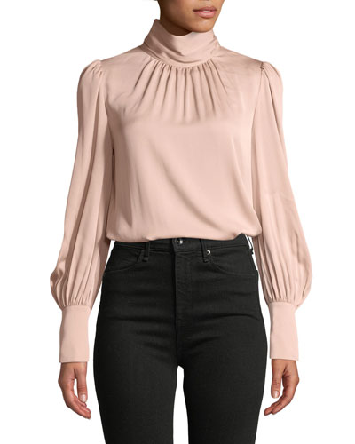 Annabel Silky Stretch  Blouse