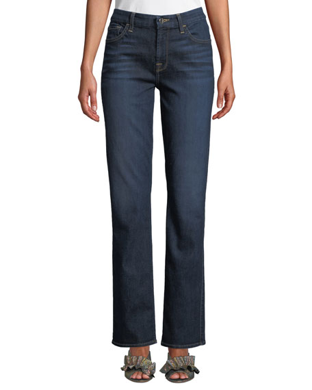 Jen7 by 7 for All Mankind Slim Straight-Leg