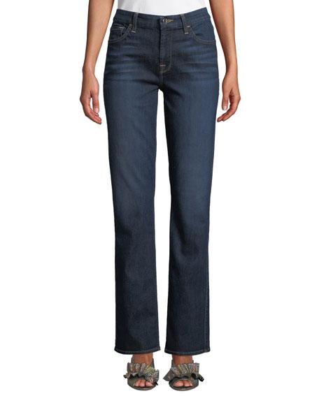 Slim Straight-Leg Jeans