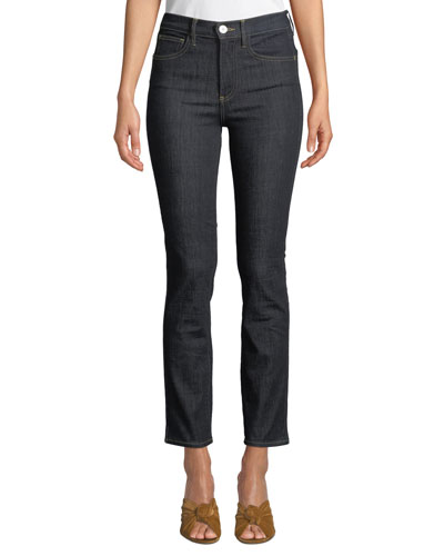 Stevie Straight-Leg Ankle Jeans