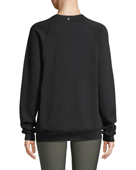 Velvet Star Crewneck Sweatshirt