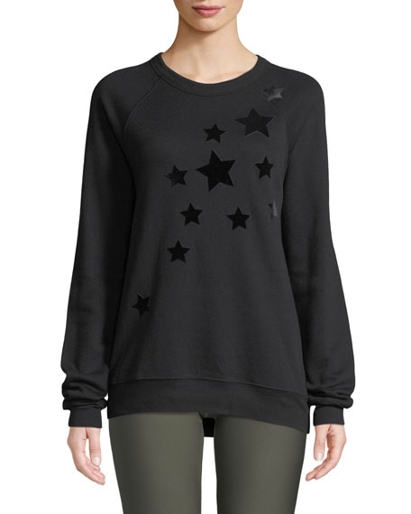 Ultracor VELVET STAR CREWNECK SWEATSHIRT