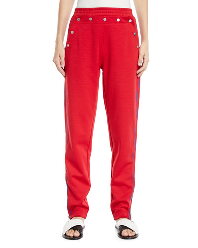 Naval Snap Pull-On Track Pants