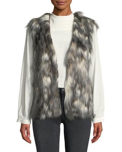 Frisco Faux-Fur Vest