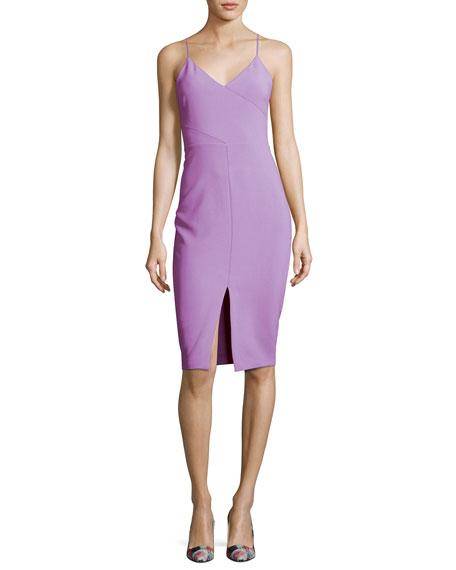 Likely Brooklyn Slit-Front Slip Dress