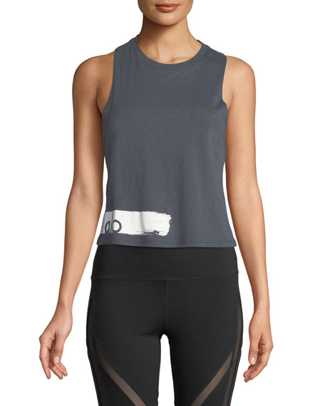 Flow Graphic Racerback Lightweight Tank