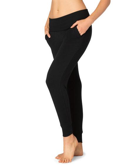 Beyond Yoga Cozy Fleece Fold-Over Jogger Sweatpants