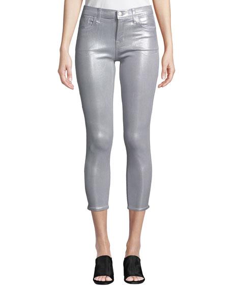 J Brand 835 Mid-Rise Capri Glowing Jeans