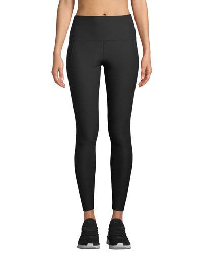Chloe Mesh Panel Activewear Leggings