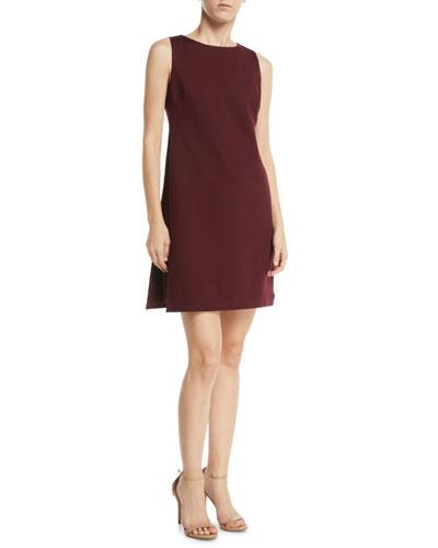 Brynne Sleeveless Draped Mini Dress