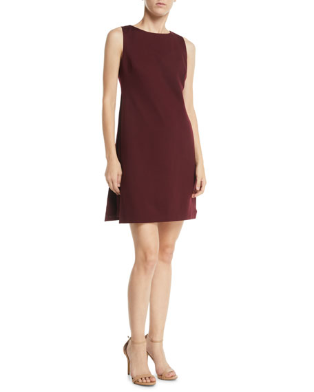 Brynne Sleeveless Draped Mini Dress