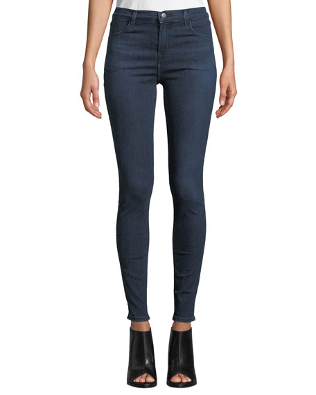 J Brand Maria High-Rise Skinny Ankle Jeans