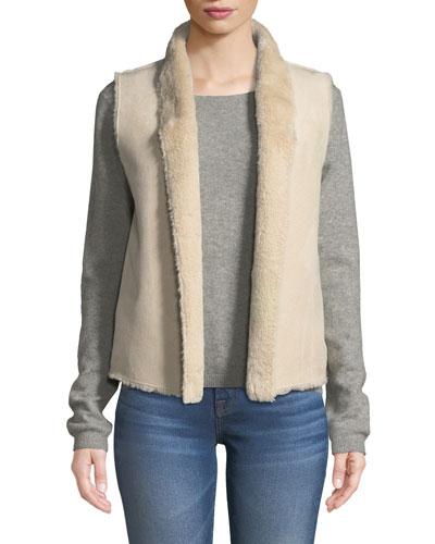 Yvette Faux-Fur Vest