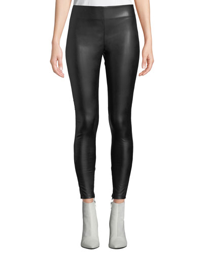 Berdine Faux-Leather Leggings