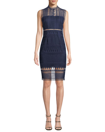 Mariana Sleeveless Lace Body-Con Dress