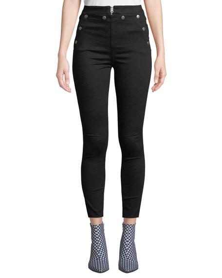 rag & bone/JEAN Penton High-Rise Skinny Jeans w/