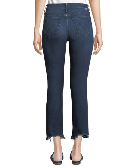 Rascal Chewed-Hem Ankle Jeans
