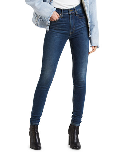 Mile High Supper Skinny Ankle Jeans