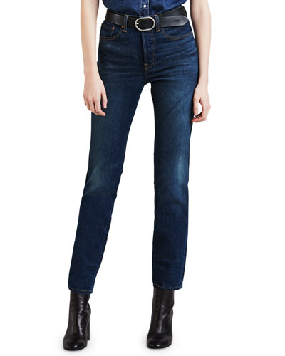 Wedgie Icon Fit High-Rise Skinny Jeans