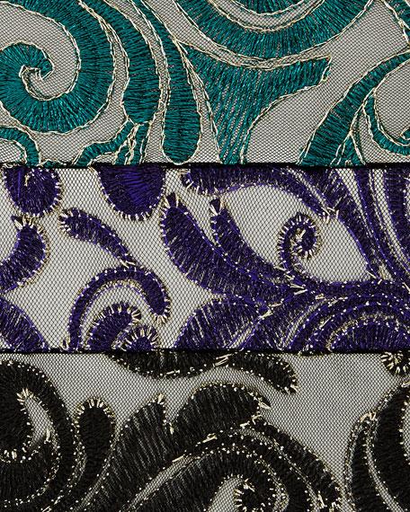 Caroline Rose Lux Embroidered Tunic