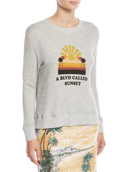 Le Superbe Bay St. Graphic Pullover Sweatshirt