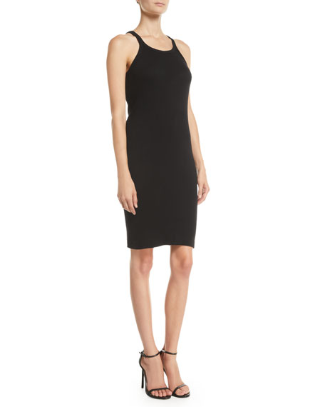 RE/DONE Ribbed Cotton Tank Dress