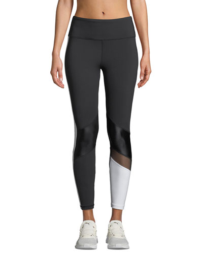 Freestyle Colorblock Mesh Performance Tights