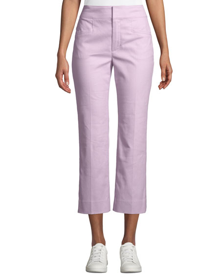 Coach x Selena Gomez High-Rise Flared Trousers