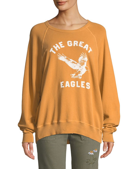 The Great The College Sweatshirt w/ Eagles Varsity