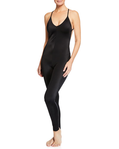 Fara Low-Back Slip Catsuit