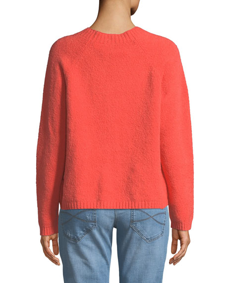 Organic Soft Cotton Sweater, Petite