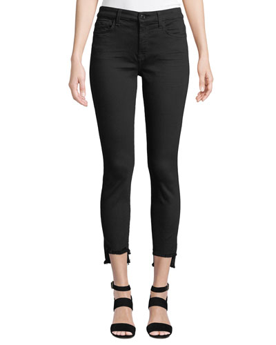 The Ankle Step-Hem Skinny Jeans