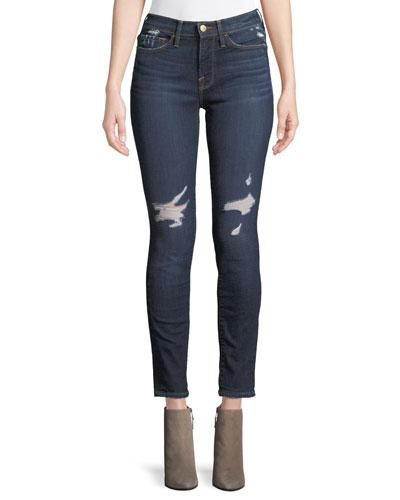 Le Skinny De Jeanne Skinny-Leg Ankle Jeans