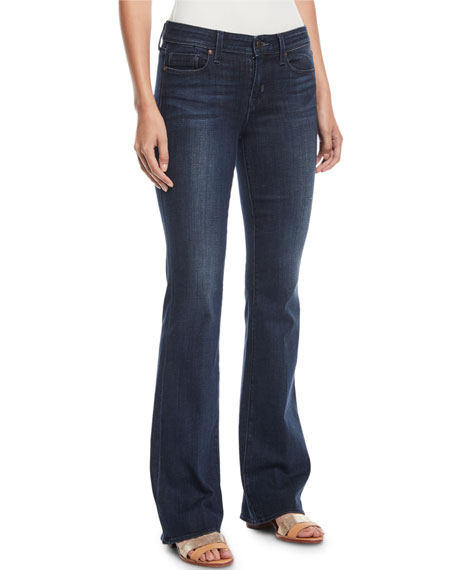 PARKER SMITH Becky Boot-Cut Jeans in Dark Blue