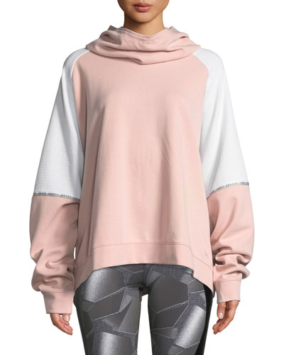 Unstoppable Double-Knit Oversize Pullover Hoodie