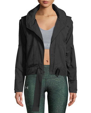 b960361ffd8 Under Armour x Misty Copeland Generation Woven Hooded Active Jacket