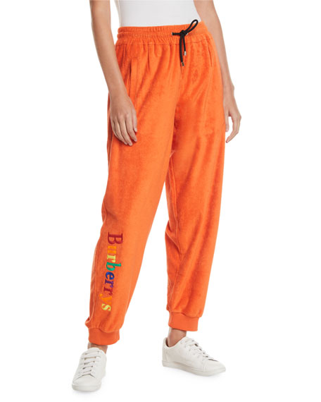 Burberry Archive Logo Terry Jogger Sweatpants