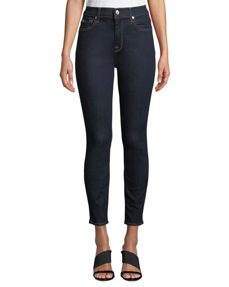 7 for all mankind The Ankle Skinny High-Waist