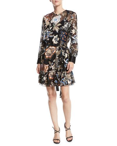 0c4ed4733afb Cora Ruffle-Hem Floral Dress. Add to favorites. Add to favorites Add to  Favorites. Quick Look. Tory Burch