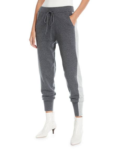 Derek Lam 10 Crosby Knit Wool-Blend Sweatpants w/