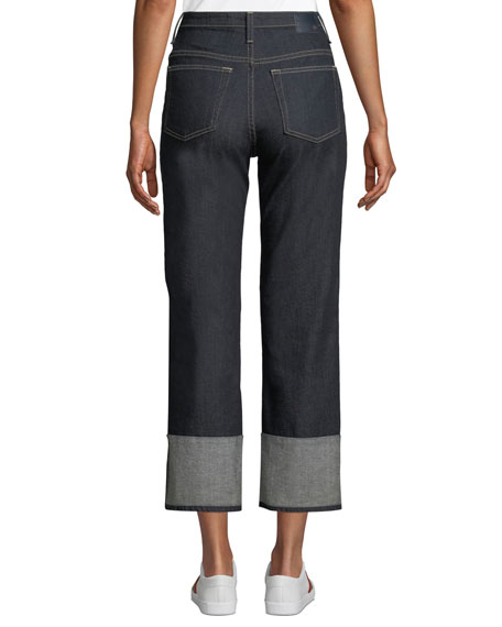 The Rhett Vintage High-Rise Straight-Leg Jeans