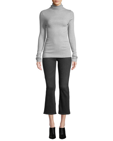 Jodi High-Rise Cropped Flare-Leg Jeans