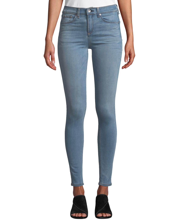 ed8735108ab6 rag   bone JEAN High-Rise Ankle Skinny Jeans