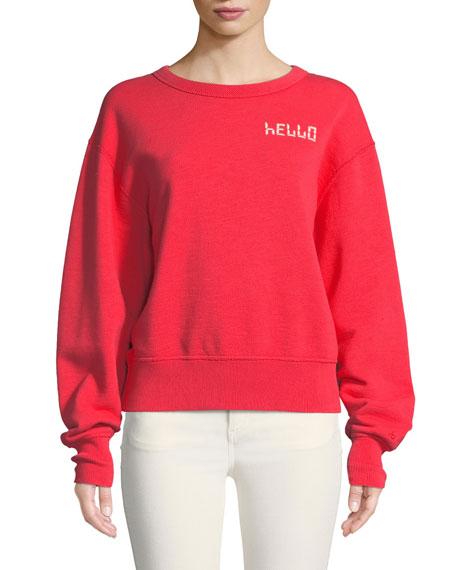 rag & bone/JEAN Hello Terry Pullover Sweatshirt