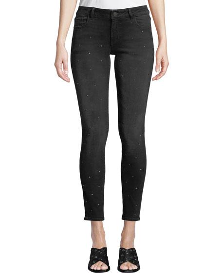 DL1961 Premium Denim Emma Low-Rise Skinny Ankle Jeans