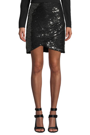 NEW LADIES WOMENS BLACK WETLOOCK WITH LACE PANEL  MINI SKIRT SIZE 6 TO 20
