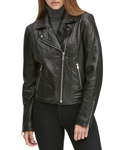 Hastings Soft Leather Moto Jacket