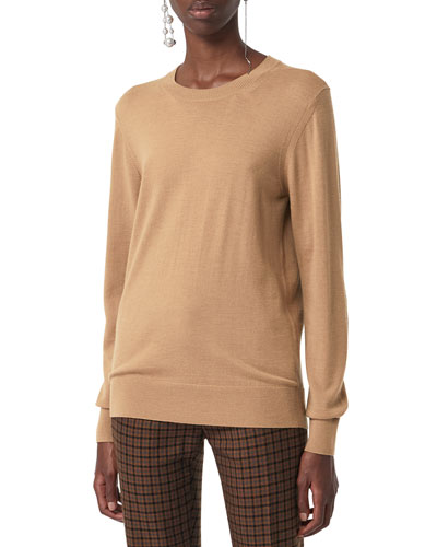 Bempton Wool Crewneck Sweater