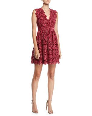 ba502bba632 kate spade new york bicolor sleeveless lace dress